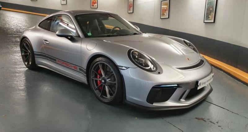 Porsche 911 GT3 Touring 4.0 500ch BVM6 Argent occasion à Neuilly-sur-Seine - photo n°2