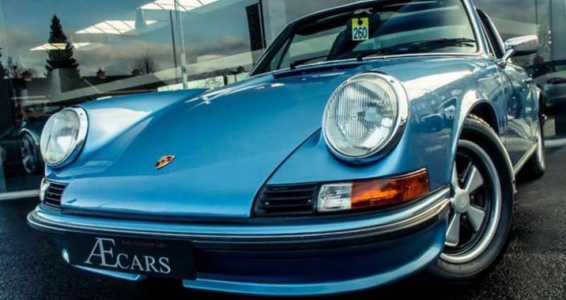 Porsche 911 S - TARGA - MANUAL - MATCHING NUMBERS Bleu occasion à IZEGEM