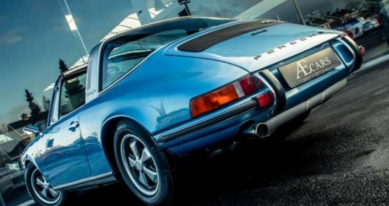 Porsche 911 S - TARGA - MANUAL - MATCHING NUMBERS Bleu occasion à IZEGEM - photo n°6