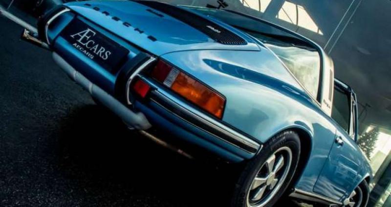 Porsche 911 S - TARGA - MANUAL - MATCHING NUMBERS Bleu occasion à IZEGEM - photo n°5