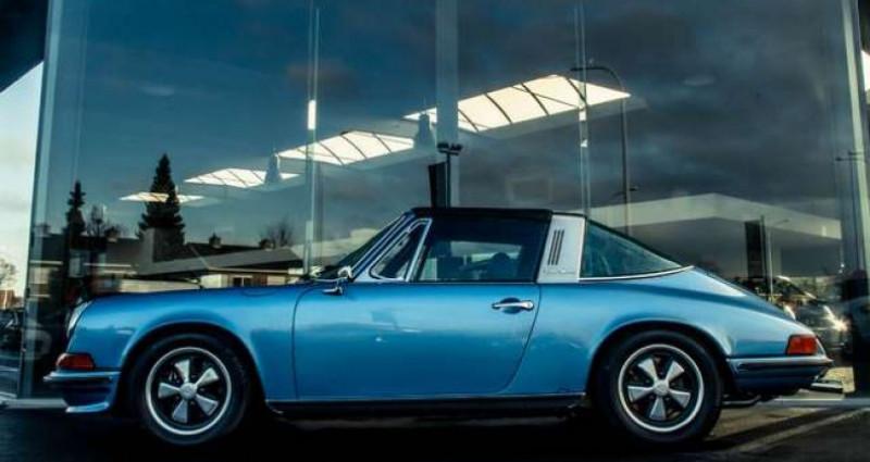Porsche 911 S - TARGA - MANUAL - MATCHING NUMBERS Bleu occasion à IZEGEM - photo n°4