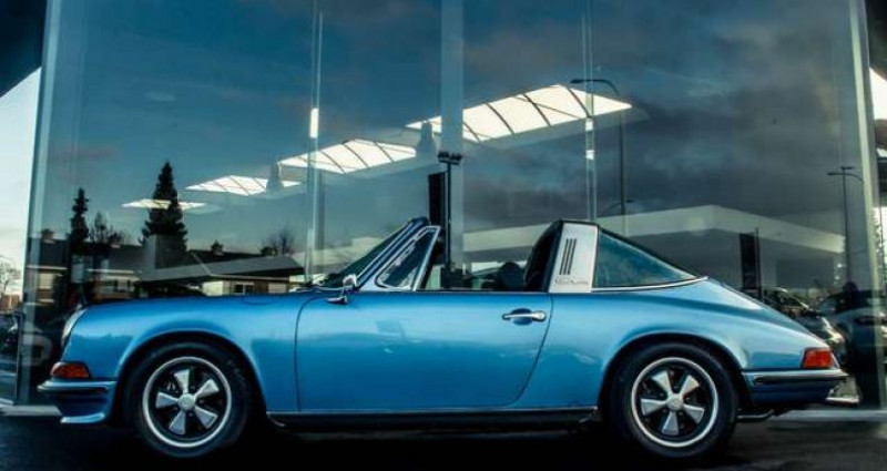 Porsche 911 S - TARGA - MANUAL - MATCHING NUMBERS Bleu occasion à IZEGEM - photo n°3