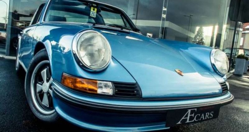 Porsche 911 S - TARGA - MANUAL - MATCHING NUMBERS Bleu occasion à IZEGEM - photo n°2