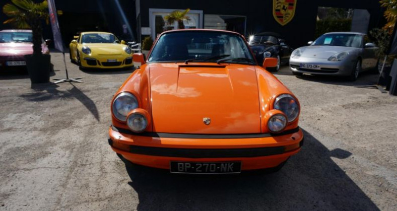 Porsche 911 SC 3.0L Orange occasion à Charpont - photo n°2