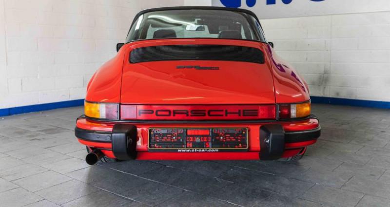 Porsche 911 SC Rouge occasion à Hesperange - photo n°3