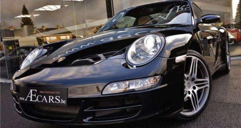 Porsche 911 TARGA 4 - XENON - GPS - PDC - BELGIAN CAR Noir occasion à IZEGEM