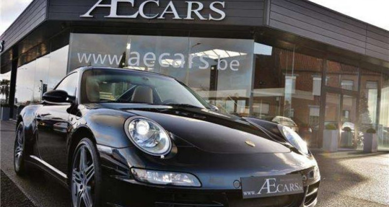 Porsche 911 TARGA 4 - XENON - GPS - PDC - BELGIAN CAR Noir occasion à IZEGEM - photo n°6