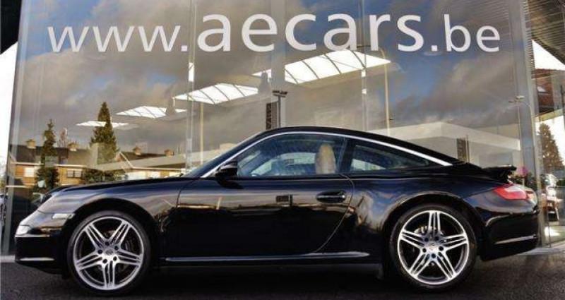 Porsche 911 TARGA 4 - XENON - GPS - PDC - BELGIAN CAR Noir occasion à IZEGEM - photo n°3