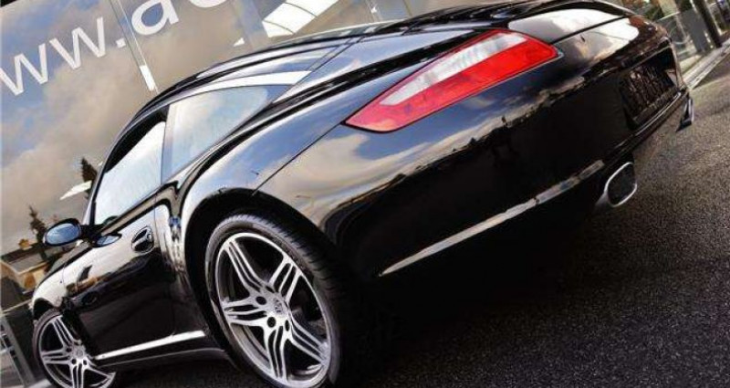 Porsche 911 TARGA 4 - XENON - GPS - PDC - BELGIAN CAR Noir occasion à IZEGEM - photo n°5