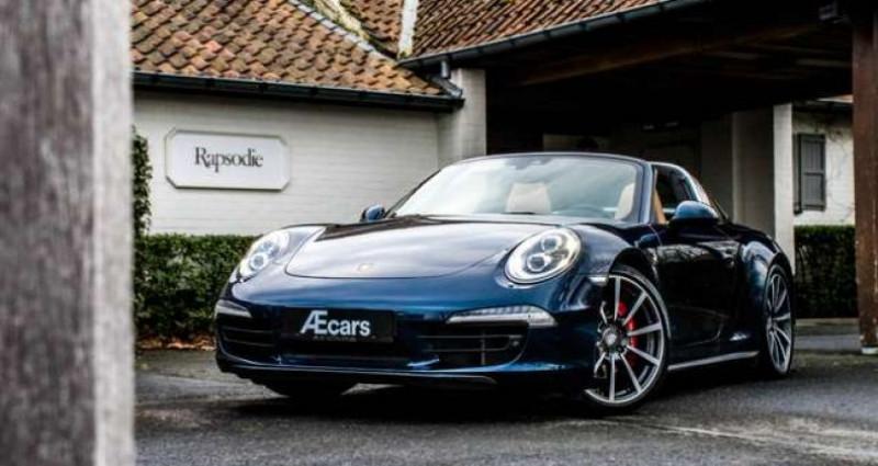 Porsche 911 TARGA 4S - PDK - SPORT CHRONO - BOSE Bleu occasion à IZEGEM - photo n°6