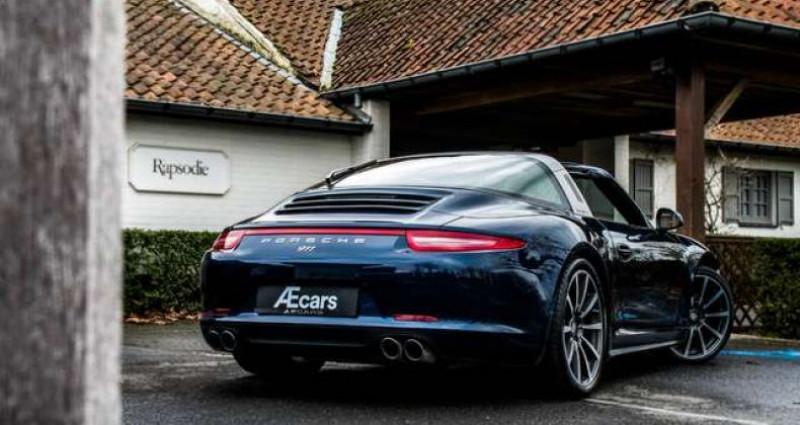 Porsche 911 TARGA 4S - PDK - SPORT CHRONO - BOSE Bleu occasion à IZEGEM - photo n°5
