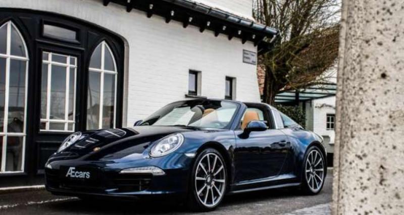 Porsche 911 TARGA 4S - PDK - SPORT CHRONO - BOSE Bleu occasion à IZEGEM - photo n°2