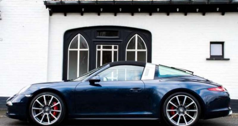 Porsche 911 TARGA 4S - PDK - SPORT CHRONO - BOSE Bleu occasion à IZEGEM - photo n°3