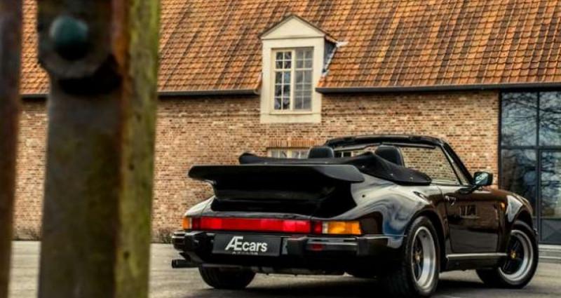 Porsche 911 TURBO CABRIOLET RADIO - COLLECTORS ITEM Noir occasion à IZEGEM