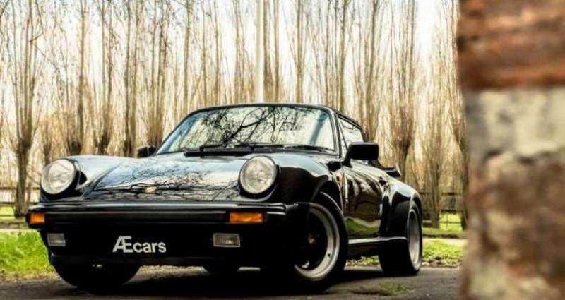 Porsche 911 TURBO CABRIOLET RADIO - COLLECTORS ITEM Noir occasion à IZEGEM - photo n°7
