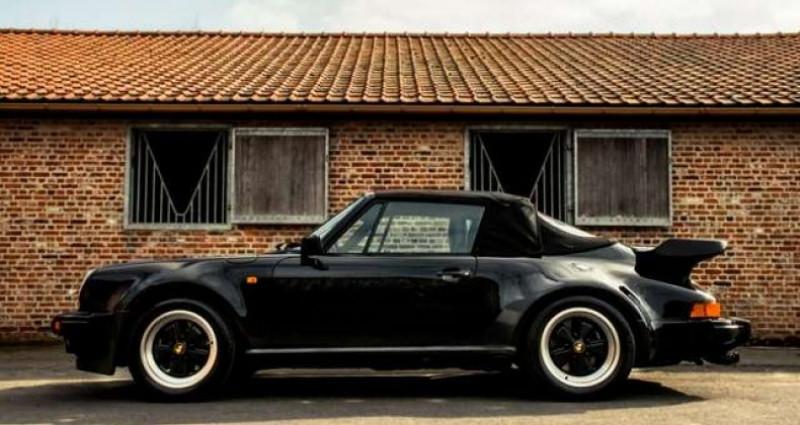 Porsche 911 TURBO CABRIOLET RADIO - COLLECTORS ITEM Noir occasion à IZEGEM - photo n°6