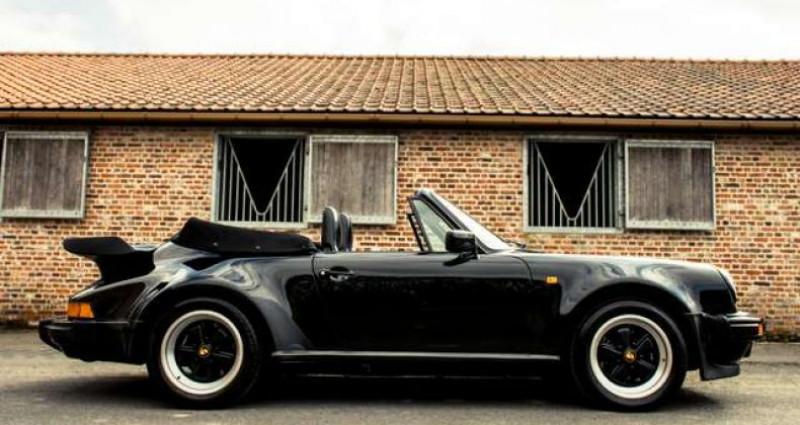 Porsche 911 TURBO CABRIOLET RADIO - COLLECTORS ITEM Noir occasion à IZEGEM - photo n°3