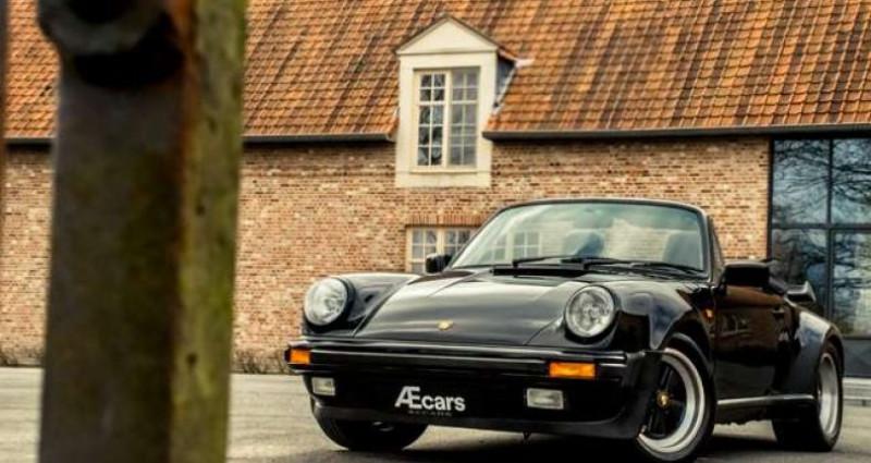 Porsche 911 TURBO CABRIOLET RADIO - COLLECTORS ITEM Noir occasion à IZEGEM - photo n°2