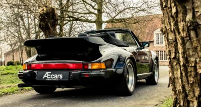 Porsche 911 TURBO CABRIOLET RADIO - COLLECTORS ITEM Noir occasion à IZEGEM - photo n°5