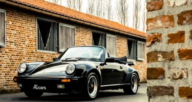 Porsche 911 TURBO CABRIOLET RADIO - COLLECTORS ITEM Noir occasion à IZEGEM - photo n°4