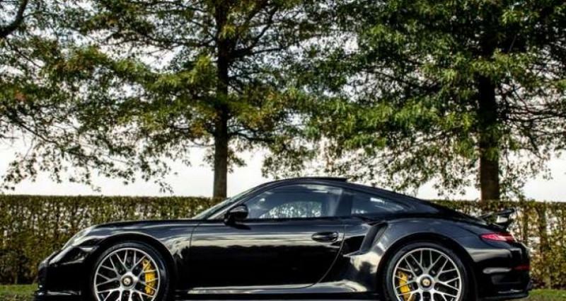 Porsche 911 TURBO S - BURMESTER - OPENROOF - CERAMIC Noir occasion à IZEGEM - photo n°3