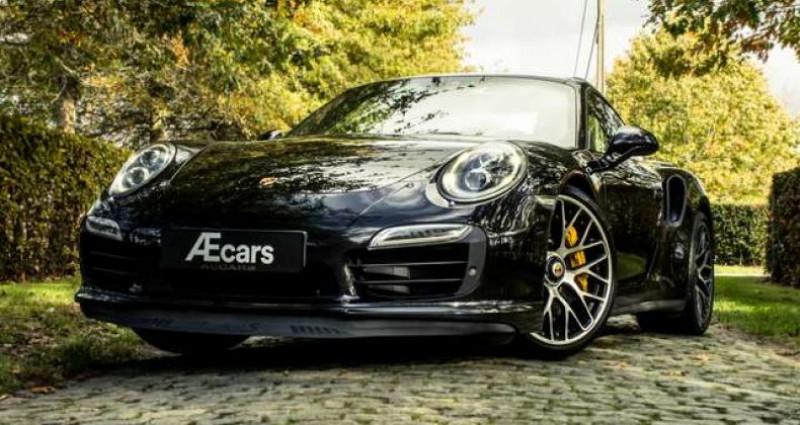 Porsche 911 TURBO S - BURMESTER - OPENROOF - CERAMIC Noir occasion à IZEGEM