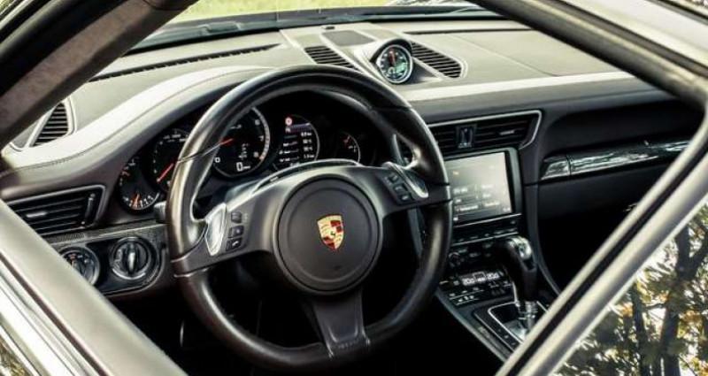 Porsche 911 TURBO S - BURMESTER - OPENROOF - CERAMIC Noir occasion à IZEGEM - photo n°6