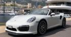 Porsche 911 Turbo S Cab Blanc à MONACO 98