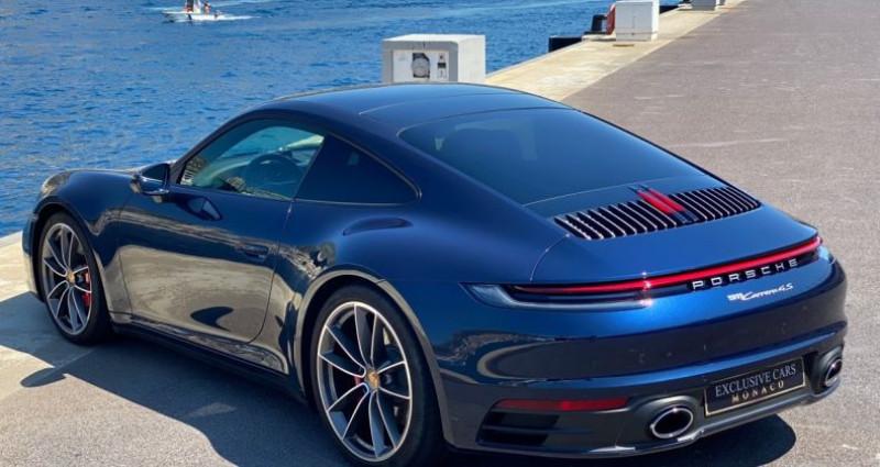 Porsche 911 TYPE 992 CARRERA 4S PDK 450 CV - MONACO Bleu occasion à MONACO - photo n°4