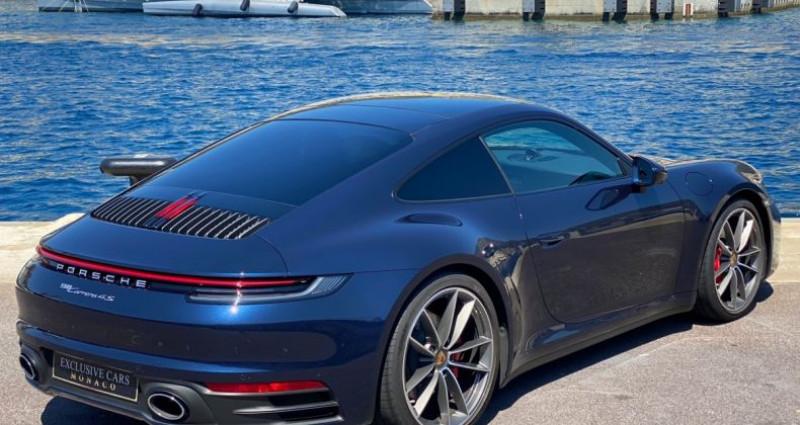 Porsche 911 TYPE 992 CARRERA 4S PDK 450 CV - MONACO Bleu occasion à MONACO - photo n°3