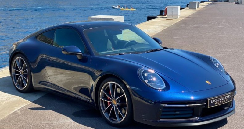 Porsche 911 TYPE 992 CARRERA 4S PDK 450 CV - MONACO Bleu occasion à MONACO - photo n°2