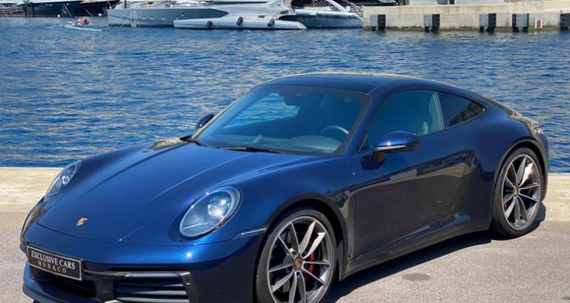 Porsche 911 TYPE 992 CARRERA 4S PDK 450 CV - MONACO Bleu occasion à MONACO