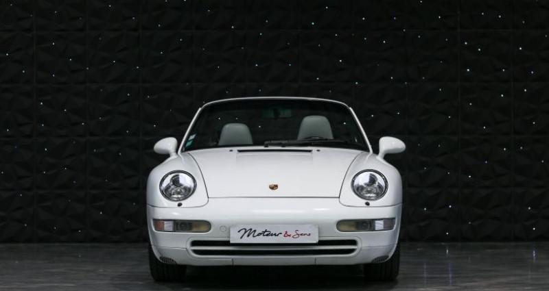 Porsche 911 TYPE 993 CABRIOLET 3.6 Blanc occasion à CHAVILLE - photo n°3