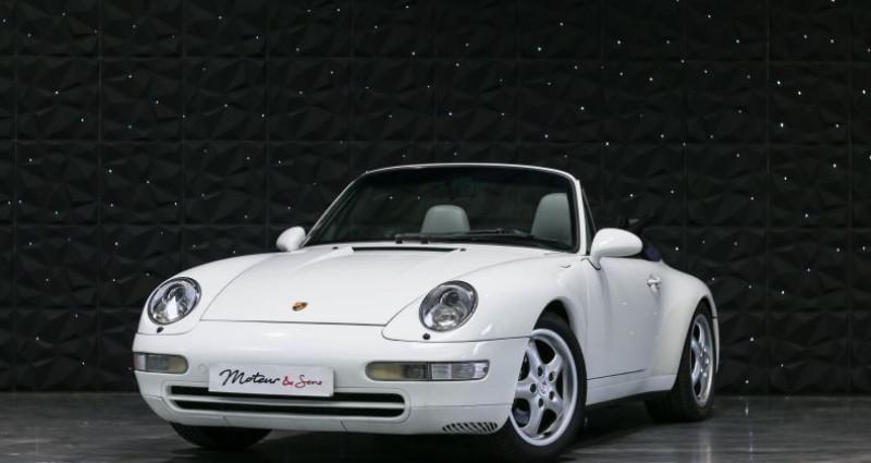 Porsche 911 TYPE 993 CABRIOLET 3.6 Blanc occasion à CHAVILLE