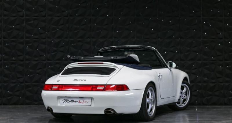 Porsche 911 TYPE 993 CABRIOLET 3.6 Blanc occasion à CHAVILLE - photo n°2