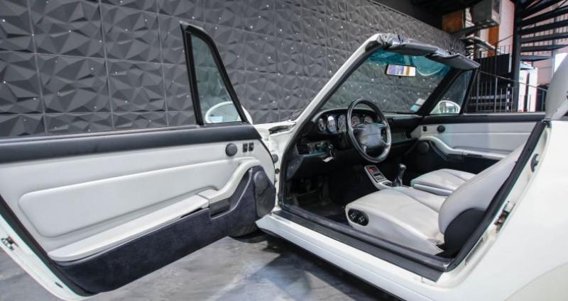 Porsche 911 TYPE 993 CABRIOLET 3.6 Blanc occasion à CHAVILLE - photo n°7