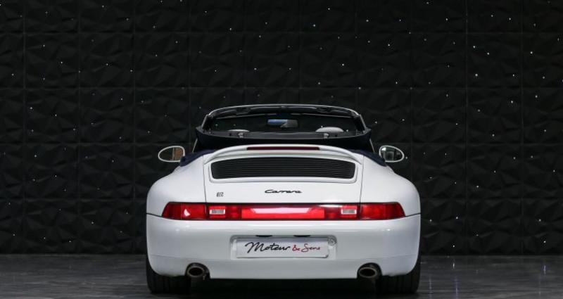 Porsche 911 TYPE 993 CABRIOLET 3.6 Blanc occasion à CHAVILLE - photo n°4