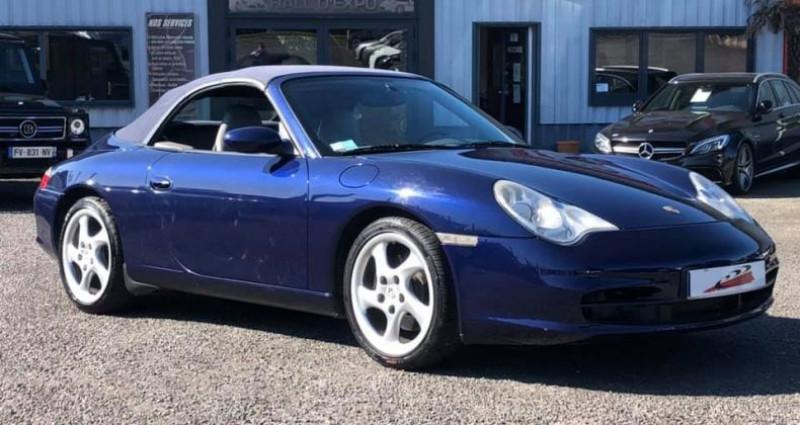 Porsche 911 Type 996 Cabriolet 3.6 320ch Carrera Tiptronic S Bleu occasion à Vire - photo n°3