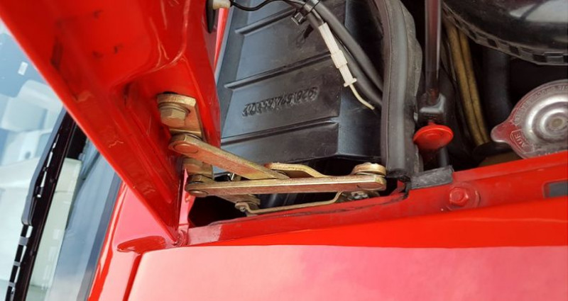 Porsche 928 S Rouge occasion à Hesperange - photo n°4