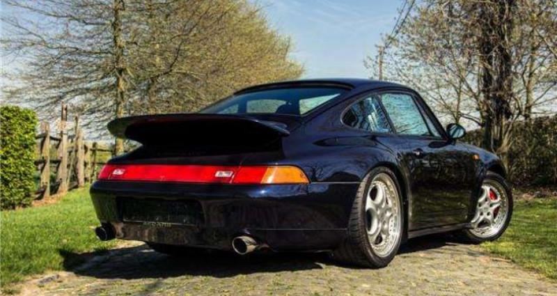 Porsche 993 - RS - 3.8 - 300PK - 97.428 KM - FULL HISTORY - Bleu occasion à IZEGEM - photo n°4