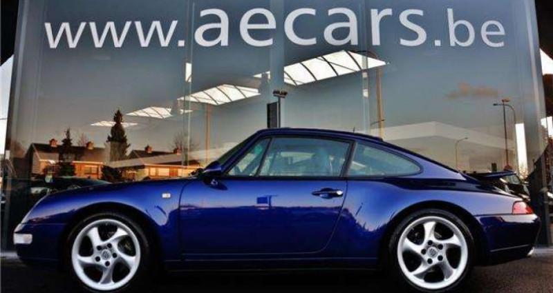 Porsche 993 3.6i - COUPE - TIPTRONIC S - FULL HISTORY Bleu occasion à IZEGEM - photo n°3