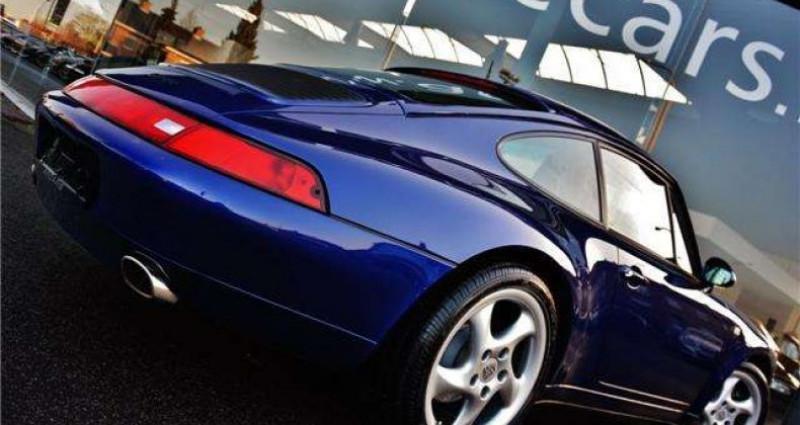 Porsche 993 3.6i - COUPE - TIPTRONIC S - FULL HISTORY Bleu occasion à IZEGEM - photo n°4