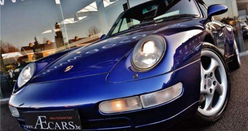 Porsche 993 3.6i - COUPE - TIPTRONIC S - FULL HISTORY Bleu occasion à IZEGEM