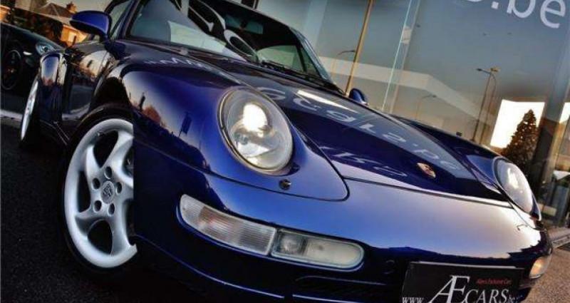 Porsche 993 3.6i - COUPE - TIPTRONIC S - FULL HISTORY Bleu occasion à IZEGEM - photo n°2