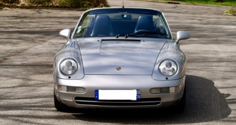 Porsche 993 3.8 Cabriolet X51 Gris occasion à Paris - photo n°2