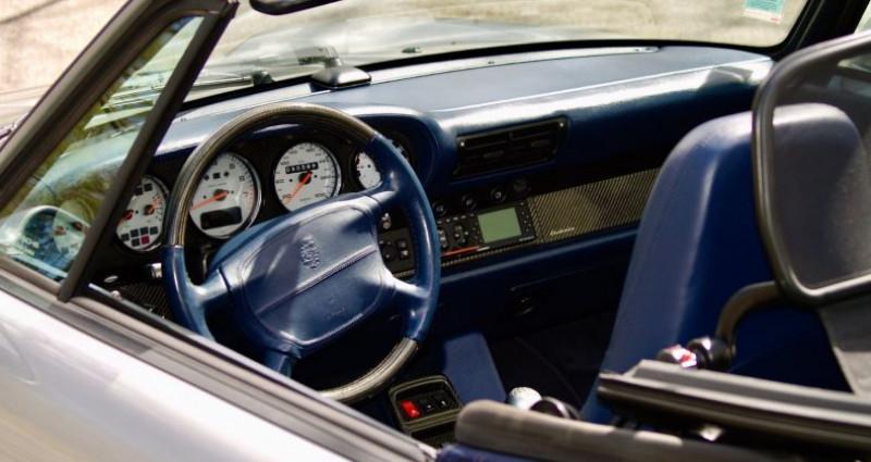 Porsche 993 3.8 Cabriolet X51 Gris occasion à Paris - photo n°5