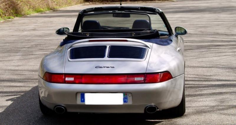 Porsche 993 3.8 Cabriolet X51 Gris occasion à Paris - photo n°4