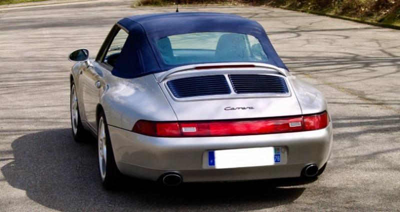 Porsche 993 3.8 Cabriolet X51 Gris occasion à Paris - photo n°7
