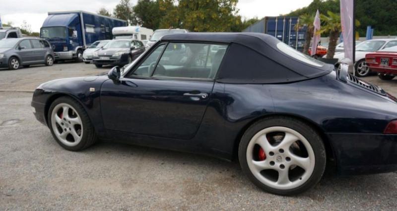 Porsche 993 CARRERA 2 CABRIOLET Bleu occasion à Charpont - photo n°4