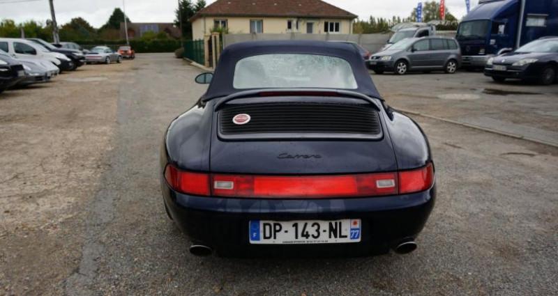 Porsche 993 CARRERA 2 CABRIOLET Bleu occasion à Charpont - photo n°6